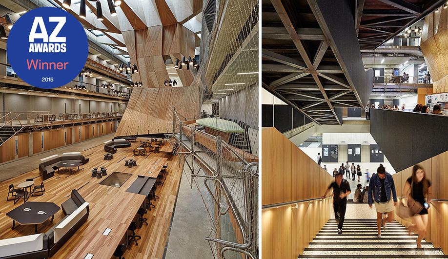 2015 AZ Awards Winner: Best Architecture, Over 1,000 Square Metres