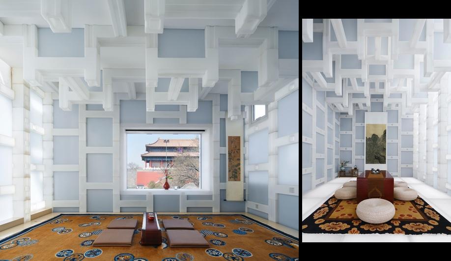Kengo Kuma's Beijing Tea Room