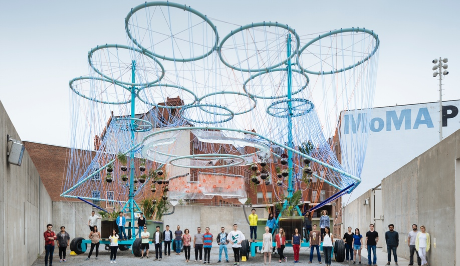 The Wacky Water-Purifying Art Installation at MoMA PS1