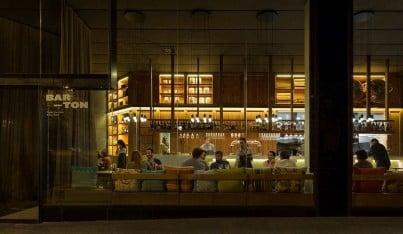 A Barcelona Tapas Bar Lights Up with Vibia