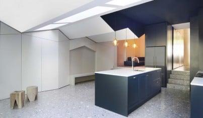 How a Folded Roof Transforms a Home Interior