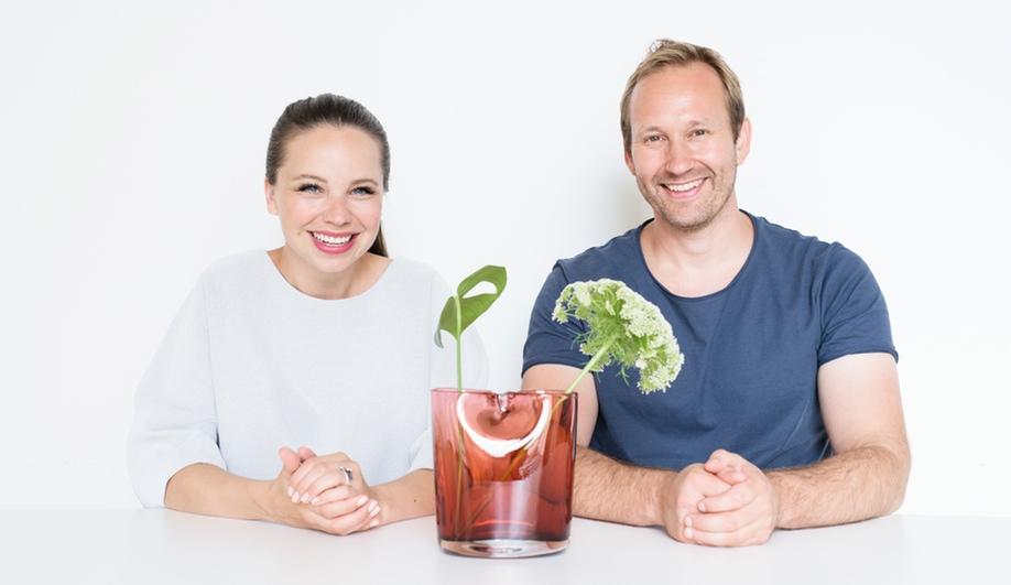 A Modern Centrepiece by a Designer Couple
