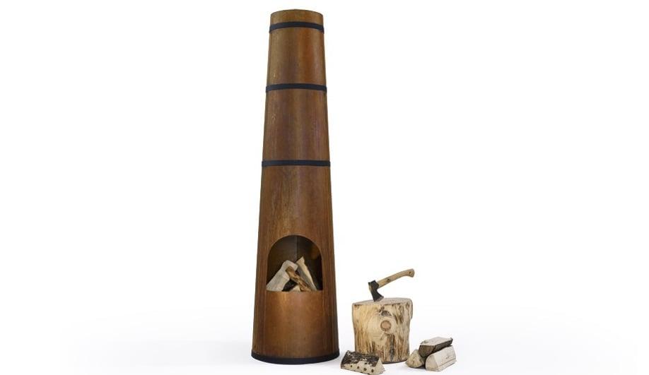 Azure-Outdoor-Fireplaces-Rije-Smokestack