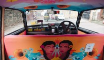 Artworks Take Over the Taxis of Mumbai