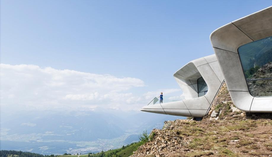 Zaha Hadid Tucks a Masterpiece into a Mountaintop