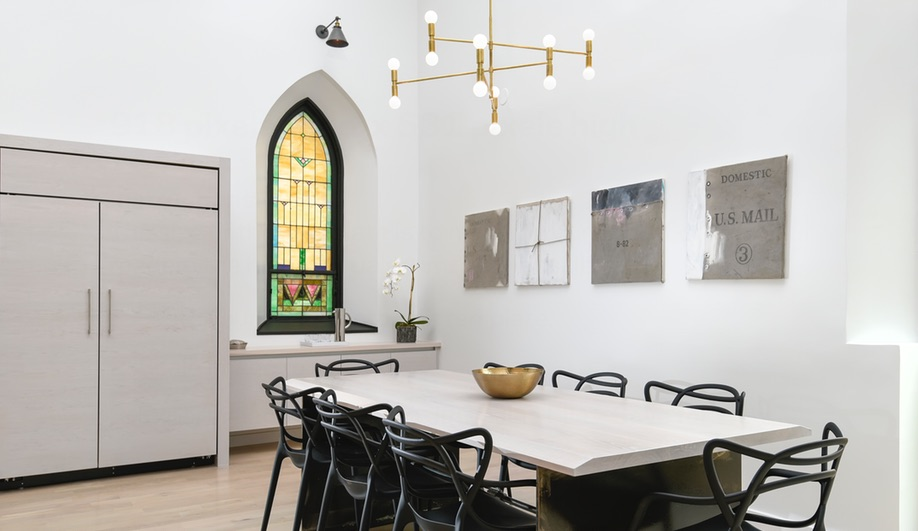 From Church to Stunning Home in Chicago