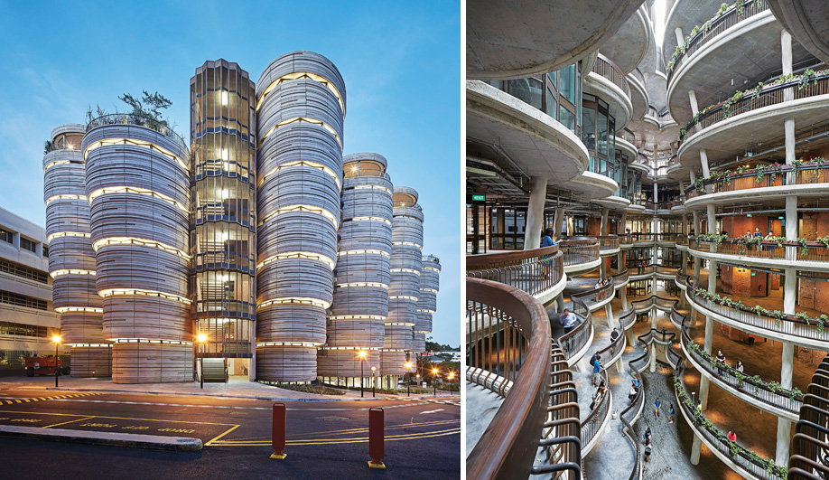 Thomas Heatherwick's Learning Hub in Singapore