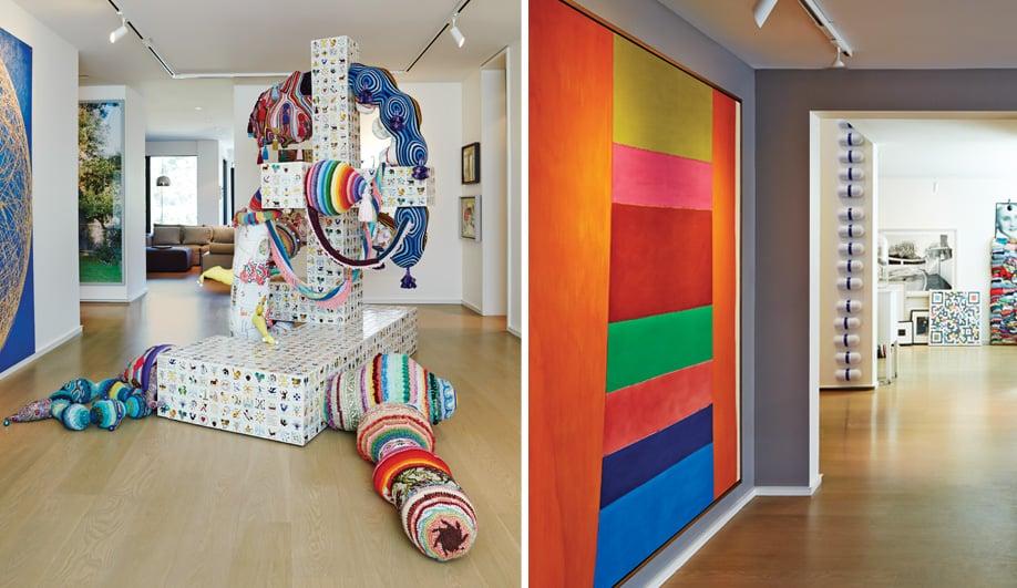 A Toronto House Designed For Big Art