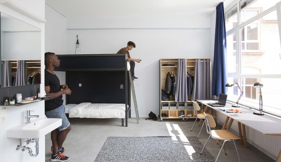 The Student Dorm Gets a Sweet Makeover in Berlin