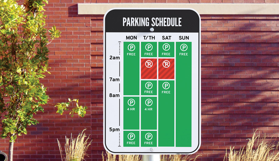 One Parking Sign to Rule Them All