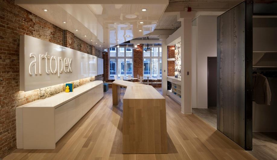 Artopexs New Showroom in Quebec City Azure Magazine