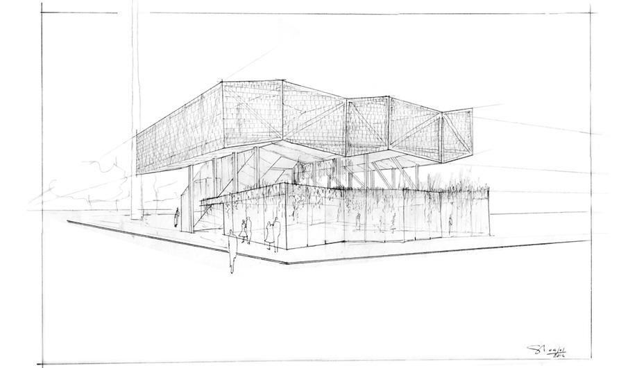 Expo 2015 Milan scheme, by Stefano Pujatti