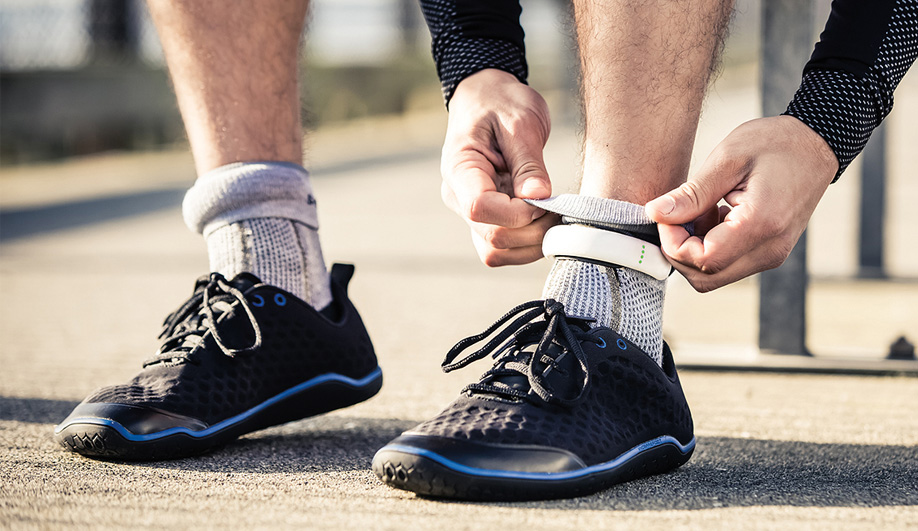 Sensoria socks are equipped with Bluetooth-enabled anklets that give runners updates on form, distance, pace and speed, right down to the millisecond.