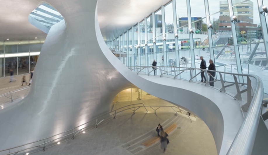 UNStudio's Arnhem Train Station is Stunning