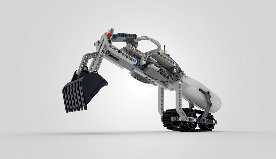Lego Compatible Prosthetic Arm