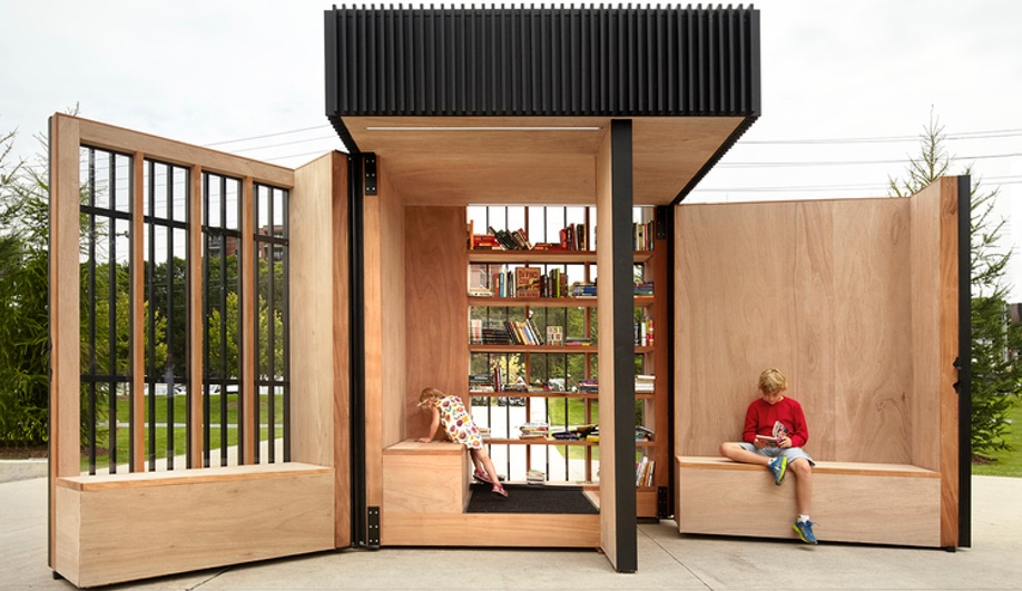Take a Book, Leave a Book at the Story Pod Library