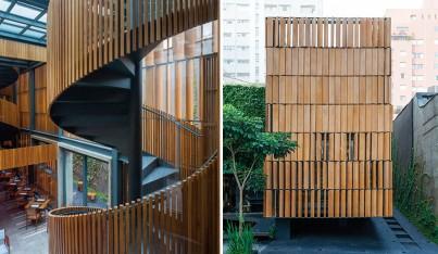 A Bossa Nova Restaurant Inspired by Brazilian Modernism