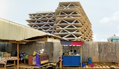 Mario Cucinella's Ultra-Green Office Building in Ghana