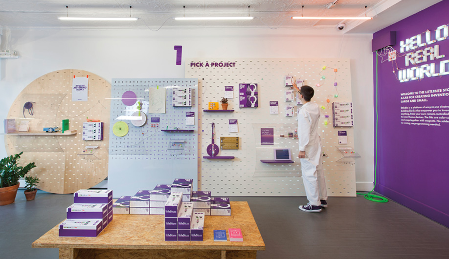 LittleBits Electronics Gets a New York Pop-Up