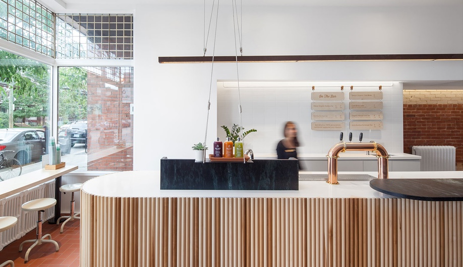 An Elegant Cold-Pressed Juicery in Toronto