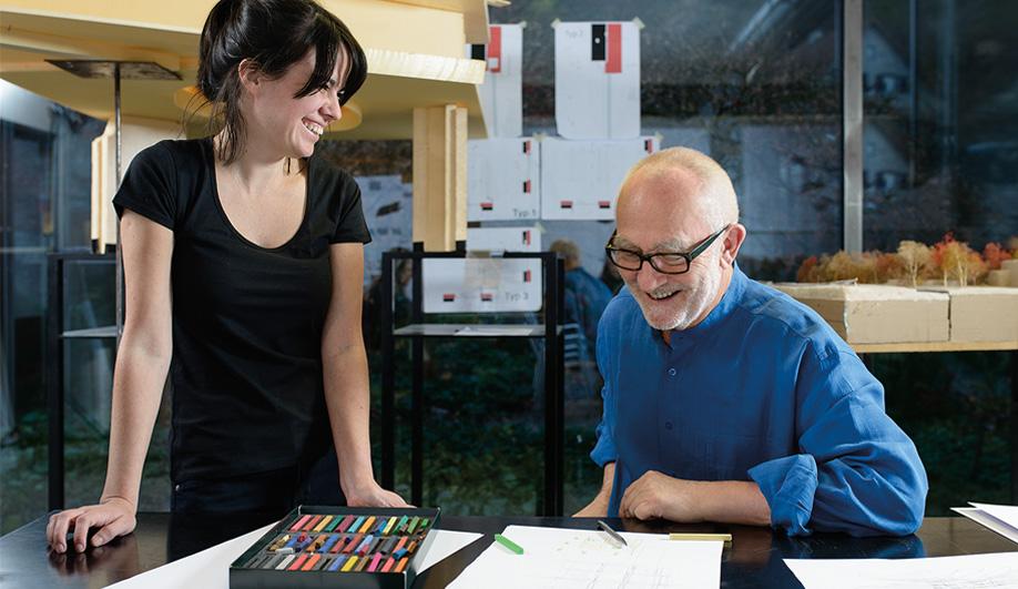 Inside Peter Zumthor S Mentor Program Azure Magazine