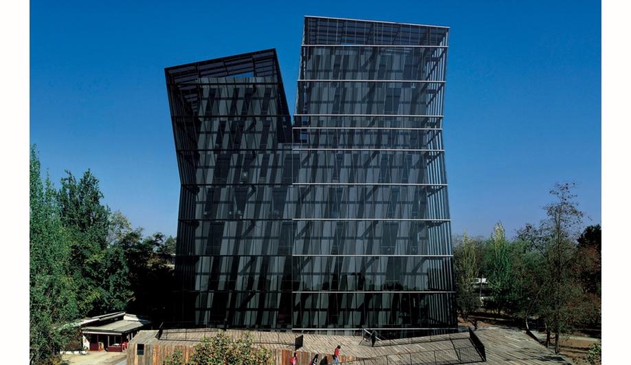 Siamese Towers at Universidad Católica de Chile