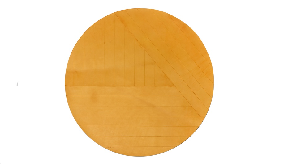 Midwest Leather Rug