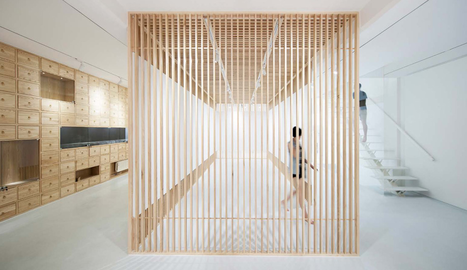 A Stunningly Minimal Gallery in Beijing