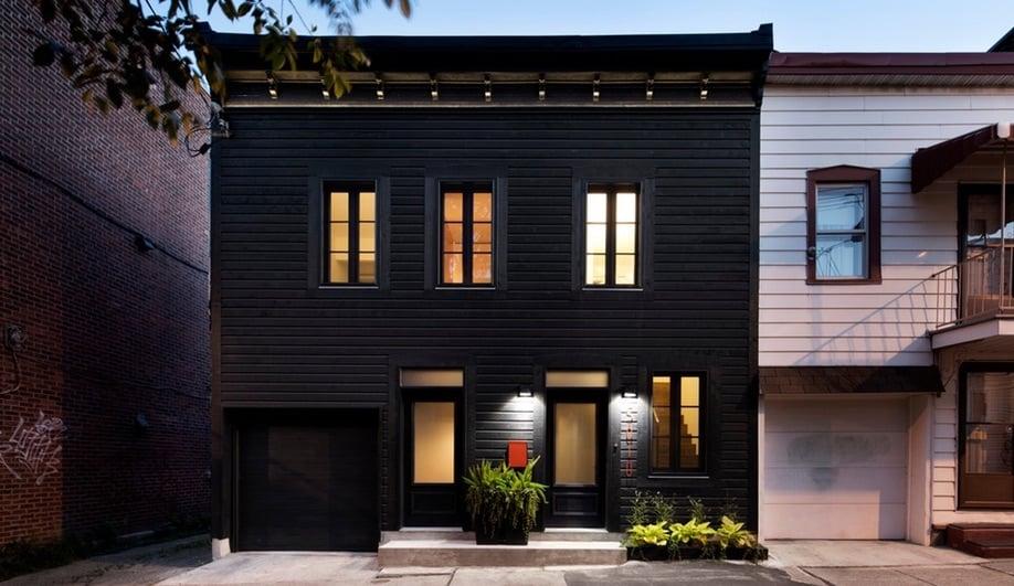 Architecture Open Form Transforms a Montreal Duplex