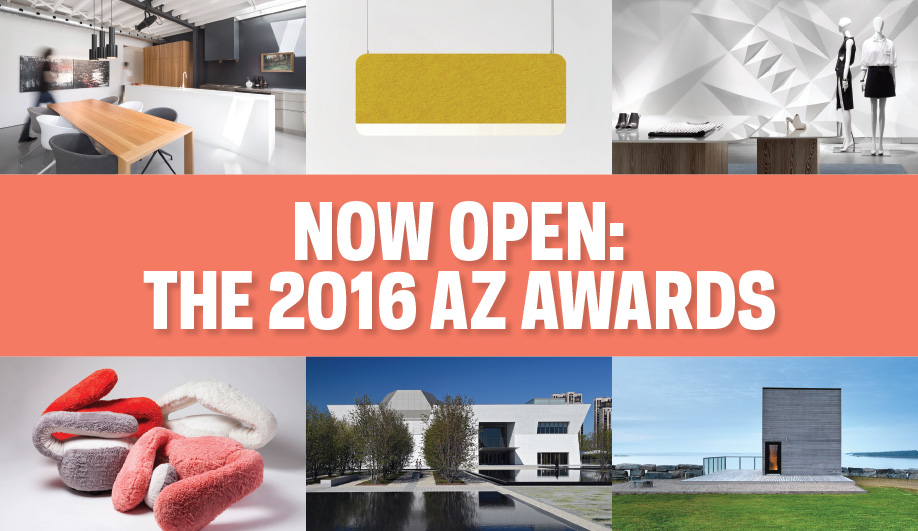 Call for Entries: AZ AWARDS 2016