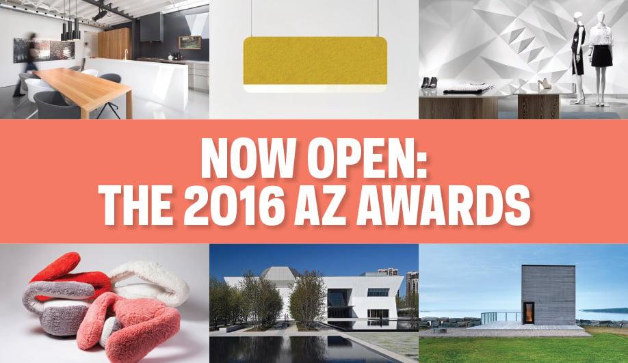Call for Entries: AZ AWARDS 2016