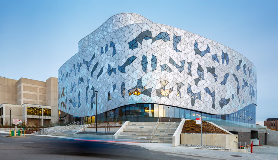 York U's Imaginative Engineering Building Reaches for the Clouds