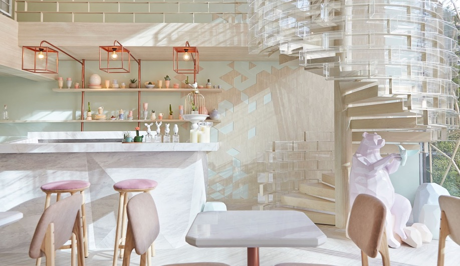 A Sweet Dessert Bar in Bangkok by Party Space Design