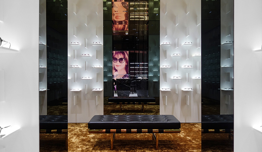 Bolon Eyewear's Eye-Popping Store in Shanghai