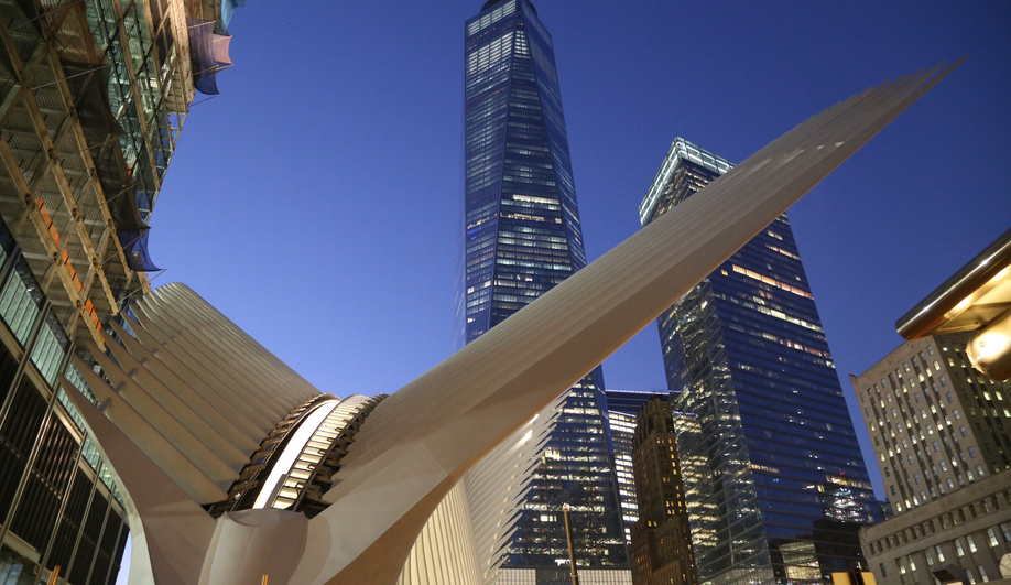 Santiago Calatrava's WTC Transportation Hub Opens in New York