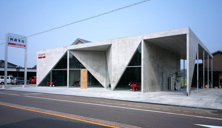 Showroom H Masuya in Niigata, Japan, by Akihisa Hirata / photo © Nacása & Partners