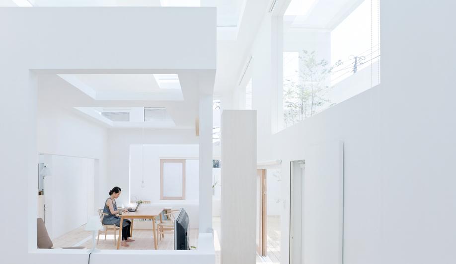 House N in Oita, Japan, by Sou Fujimoto / photo by Iwan Baan