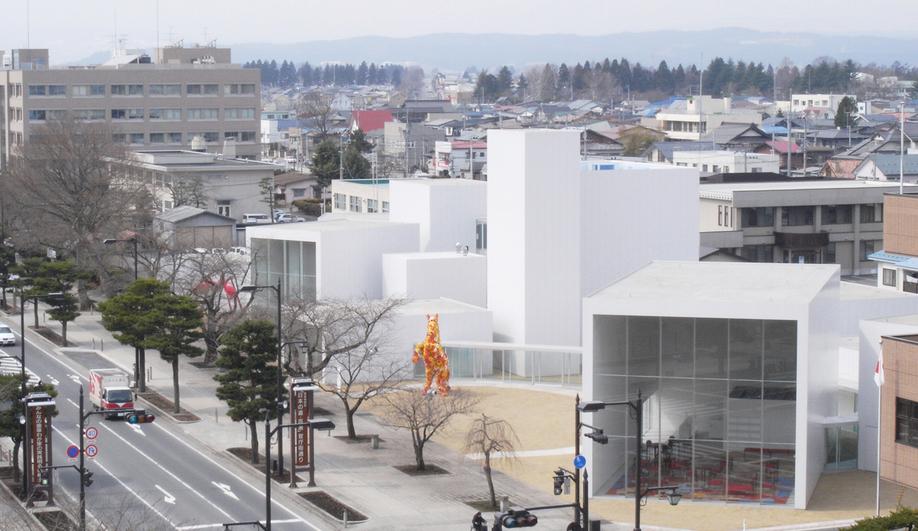 Towada Art Center in Aomori, Japan, by Ryue Nishizawa