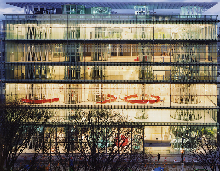 Sendai Mediatheque in Miyagi, Japan, by Toyo Ito & Associates, Architects / photo by Naoya Hatakeyama