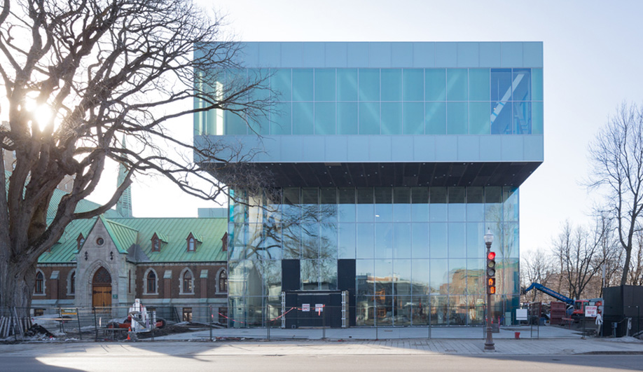 OMA's Museum in Québec Takes Shape
