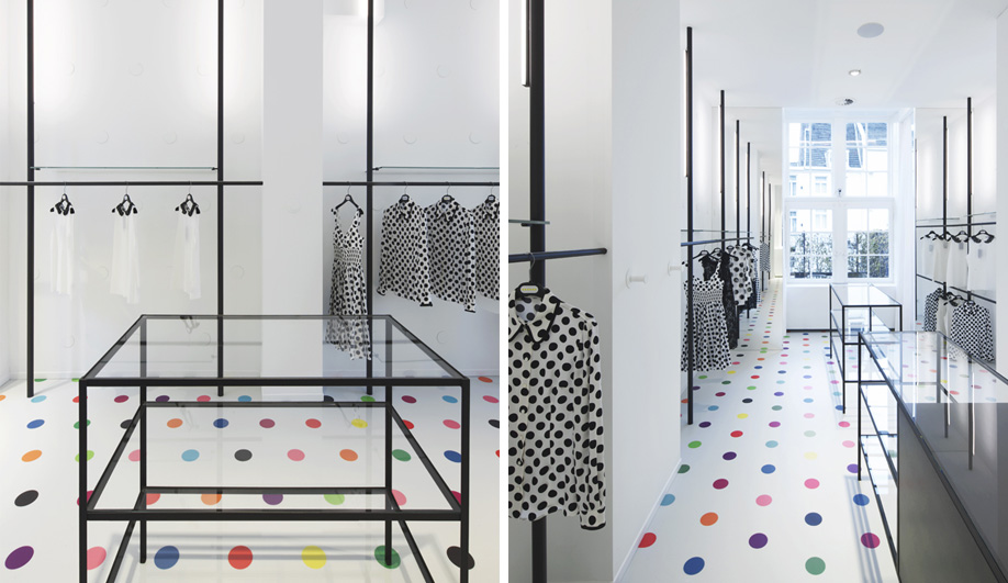 A Dutch Boutique Dressed in Polka Dots