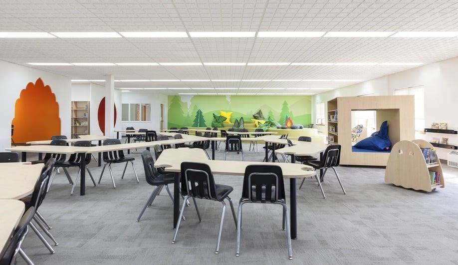 Azure Taktik Design Modern Elementary School Sainte Anne 07