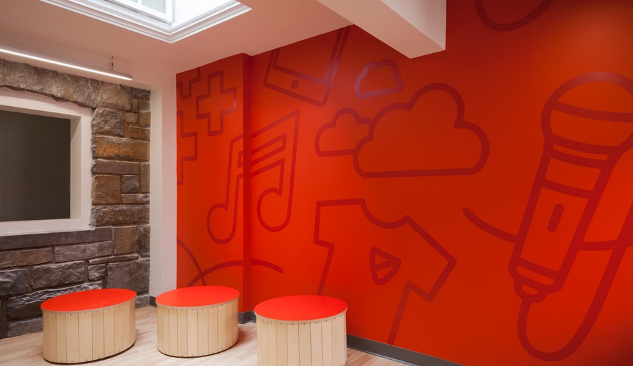 Azure Taktik Design Modern Elementary School Sainte Anne 16