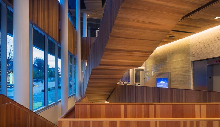 Azure 2016 OAA Awards Robert H. Lee Alumni Centre KPMB Architects HCMA Architecture