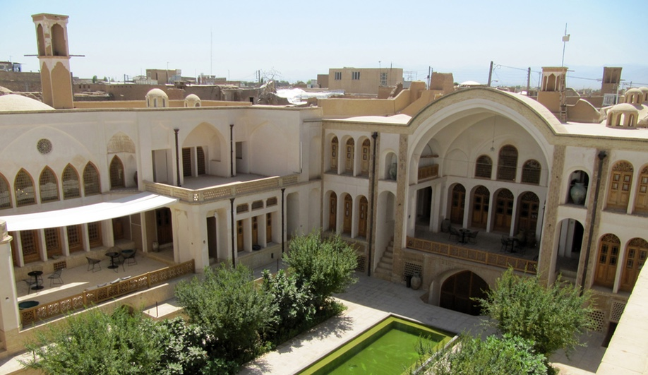 The Manouchehri House is a boutique hotel and textile centre in Kashan, Iran. It was designed by Akbar Helli and Shahnaz Nader and entailed the restoration of a 19th-century merchant home.