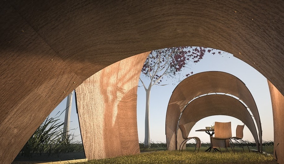 Prefab Pavilions from Star Architect Series Revolution