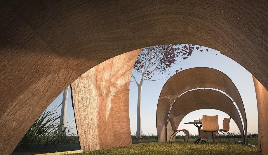 Prefab Pavilions by Ron Arad, Sou Fujimoto, Daniel Libeskind