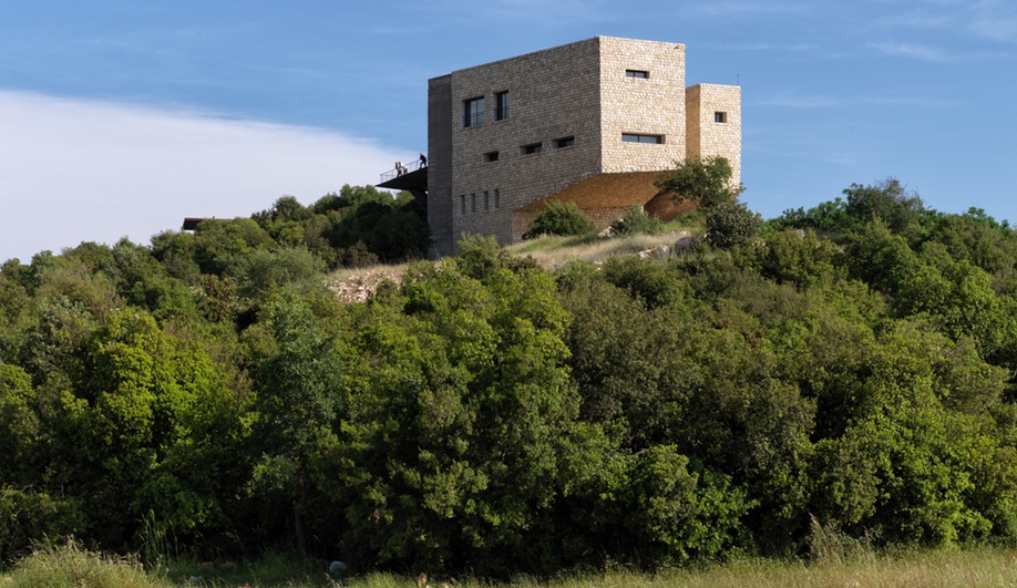 Located on an abandoned quarry in Ajloun, Jordan, the Royal Academy for Nature Conservation was designed by Khammash Architects and completed in 2014.