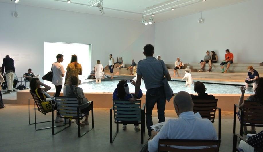 The Australian pavilion at the 2016 Venice Architecture Biennale
