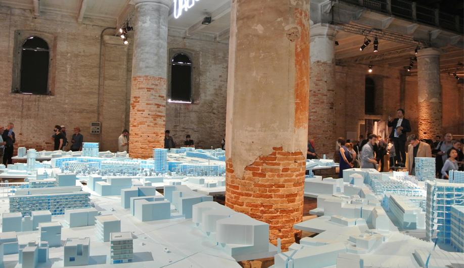 The Neubau project by BeL Sozietät für Architektur at the 2016 Venice Architecture Biennale